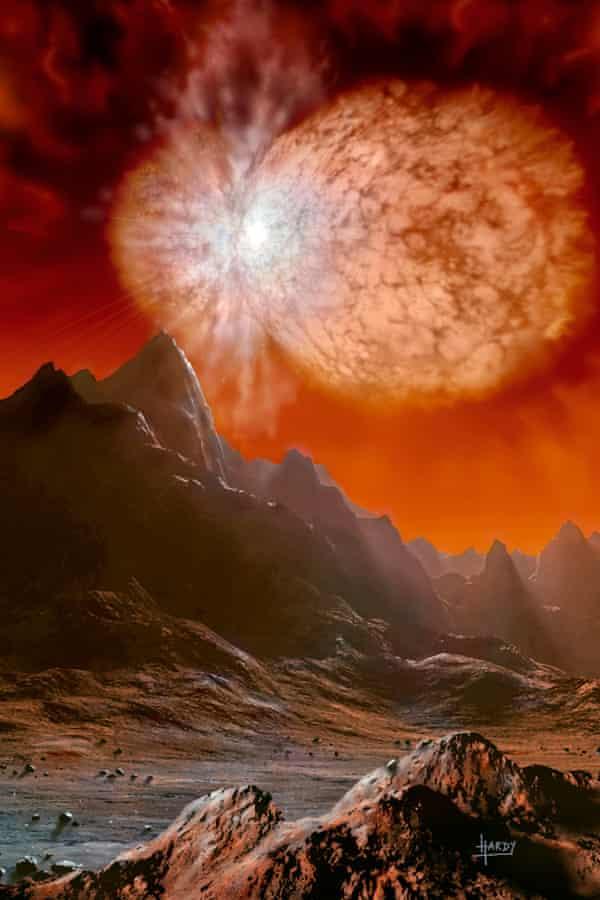 Eta Carinae by David A Hardy