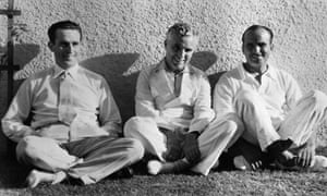 Harold Lloyd, Charles Chaplin and Douglas Fairbanks in 1932.