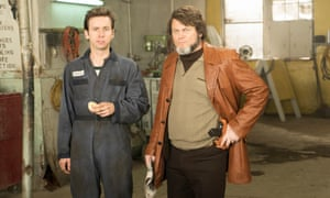 Daniel Beirne as Sonny Greer, Nick Offerman as Karl Weathers