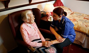 A growing elderly population is just one of the serious pressures on health provision.