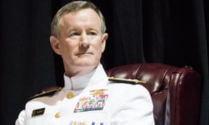 Former US navy admiral William McCraven has called for 'd
