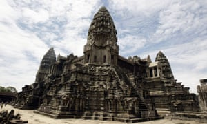 Angkor Wat is one of the world's most famous temple complexes.