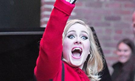 Adele is having a very good week