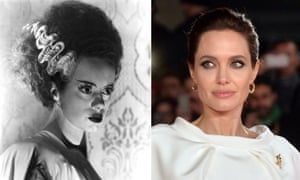 Bride to be ... Angelina Jolie could be following in the footsteps of Elsa Lanchester.