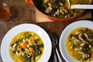 Minestrone magic: A hearty autumn soup made from leftovers
