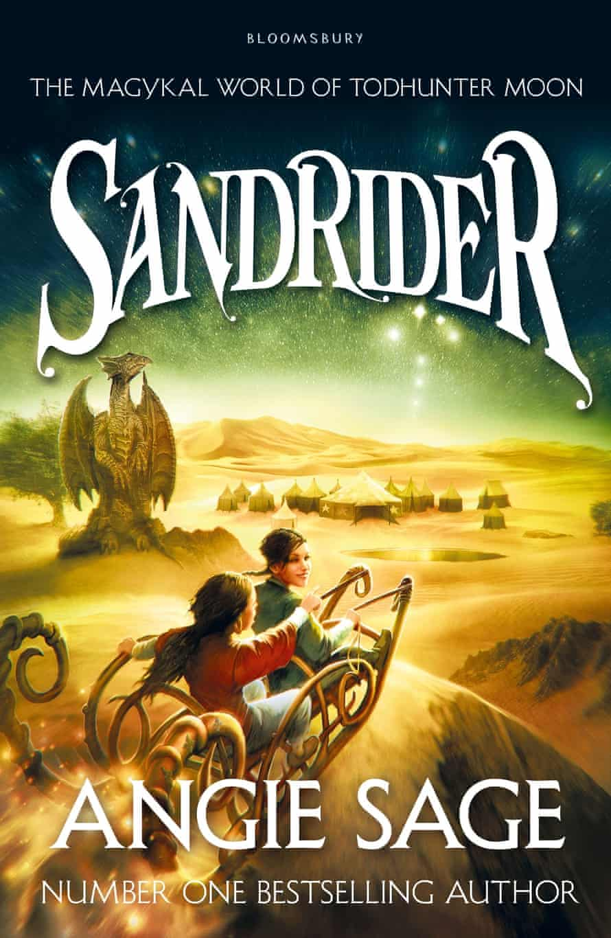 Angie Sage Sandrider