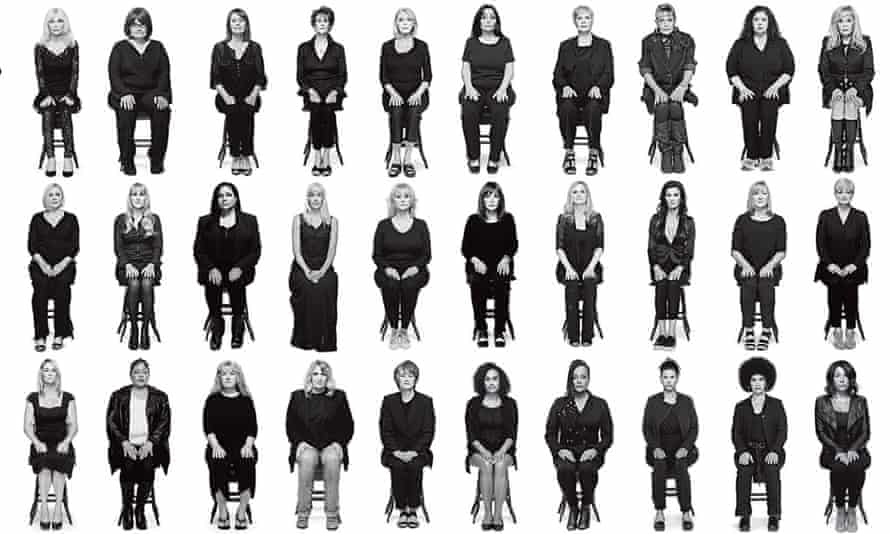 Thirty-five women who accuse Bill Cosby of assault
