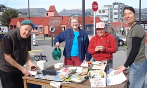 Community seed swapping event in Lyttelton