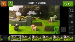 Minecraft Stop-Motion Movie Creator.