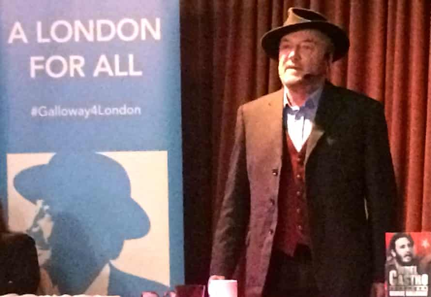 George Galloway in Walthamstow