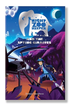 Night Zookeeper and the Spying Giraffes
