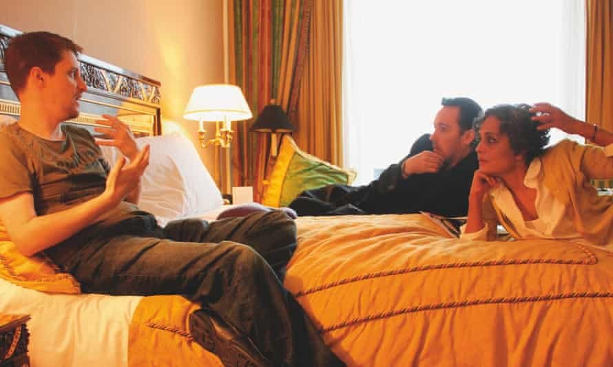 Arundhati Roy with Edward Snowden and John Cusack