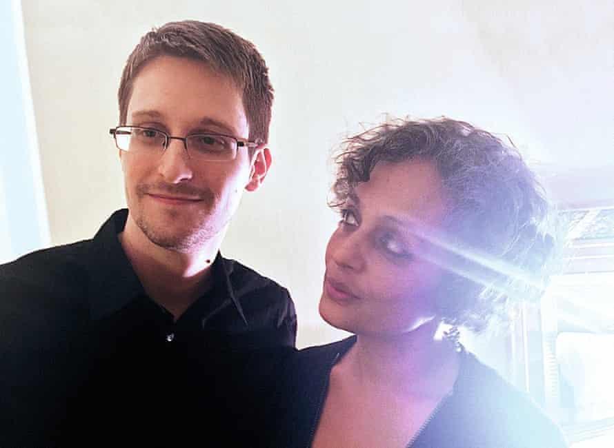 Edward Snowden and Arundhati Roy