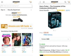 The best apps for doing your Christmas shopping, Amazon