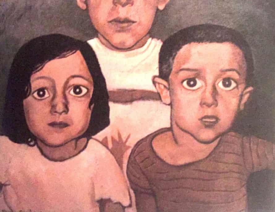 When We Were Both Alone, oil on canvas, 2005, by Samira Eskandarfar
