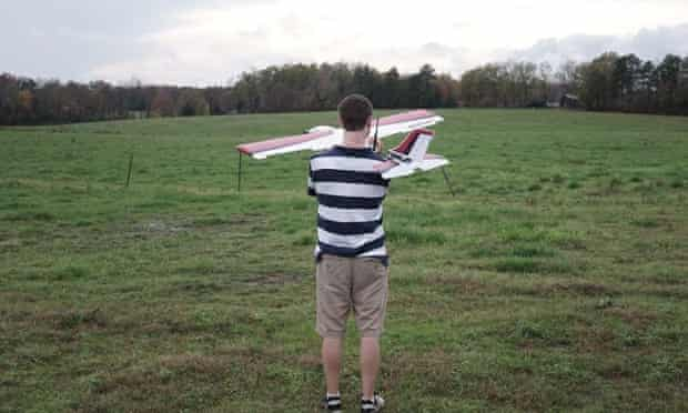 In rural North Carolina, Precision hawk is testing a trial air traffic control system designed to address the increasing numbers of unmanned flying aircraft in civilian airspace