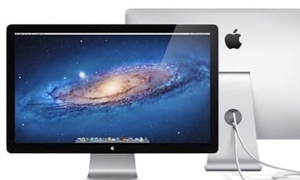 Can I use an Apple Thunderbolt monitor with a PC