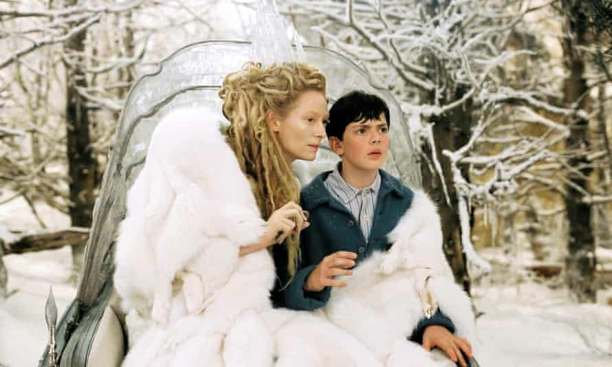 Icy revenge: Tilda Swinton as the White Witch in the 2005 film adaptation of  The Lion, the Witch and the Wardrobe.