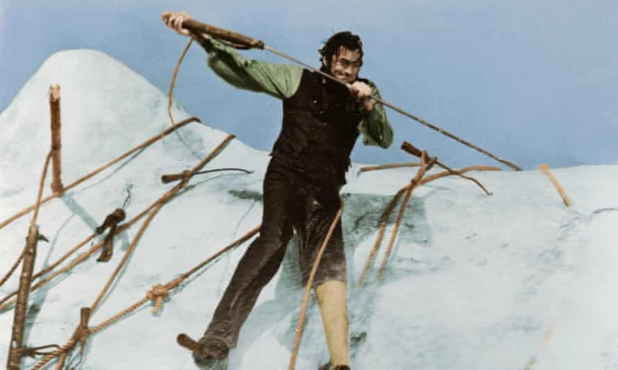 Gregory Peck in the 1950s film adaptation of Moby Dick.