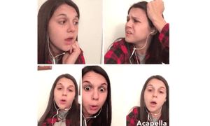 The internet is obsessed with this new Acapella app