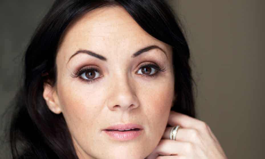 Martine McCutcheon: 'the only leading lady playing Eliza Doolittle on stage who had to be taught the posh accent as opposed to vice versa'.
