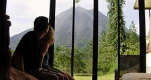 Smithsonian room atthe Arenal Observatory Lodge