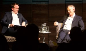 Matt Forde and Tony Blair