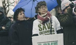 cressingham gardens lambeth council protest.