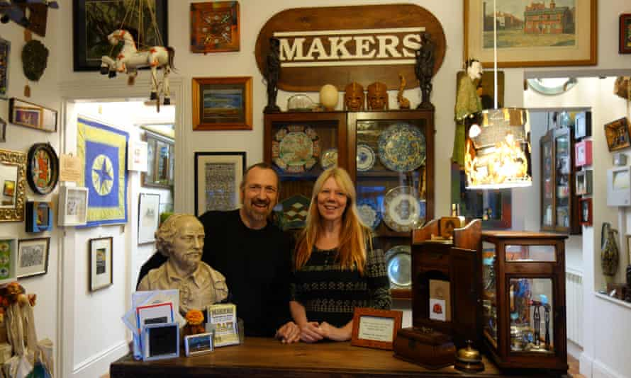 Interior of Makers shop in Sheffield.