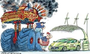 David Simonds cartoon on climate change