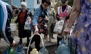 buying provisions in Luhansk region