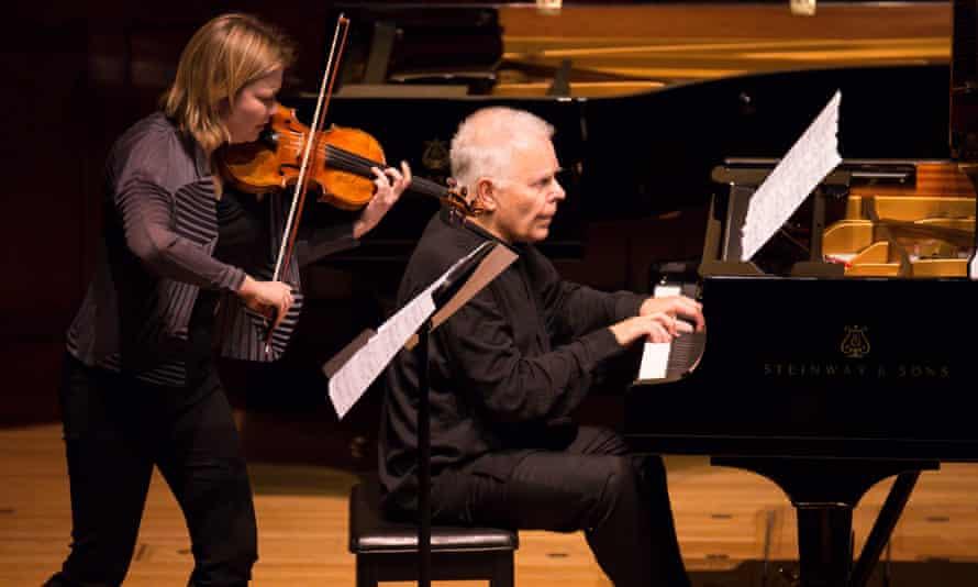 Alina Ibragimova and Stephen Kovacevich at Wigmore Hall, London