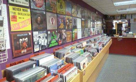 Vinyl Tap record shop, Huddersfield