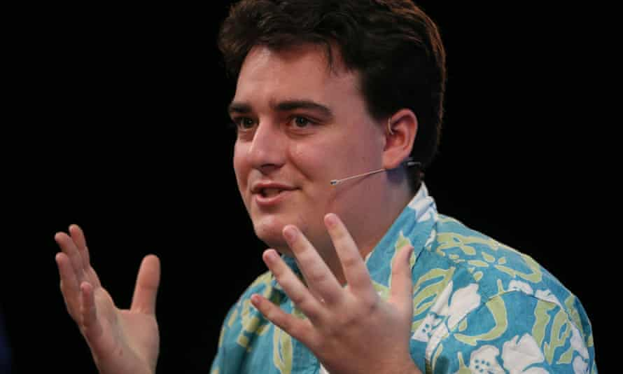 Palmer Luckey, founder of Oculus VR, speaking at the Web Summit.
