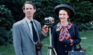 Stephen Hancock with his on-screen wife, Emily, played by Eileen Derbyshire, in the 1970s.