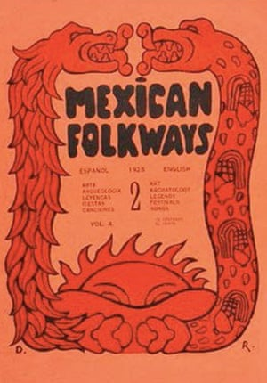 Mexican Folkways 2 (cover), 1926.