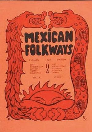 Mexican Folkways 2 (cubierta), 1926, editada por la antropóloga norteamericano Frances Toor en la azotea.