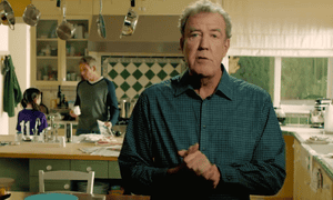 Jeremy Clarkson in Amazon drone ad.