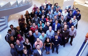 The ODI Summit pre-training day, including winners from the second cohort
