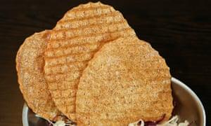 'Deep-fried to a sweet-salt golden crunch': fish cakes.