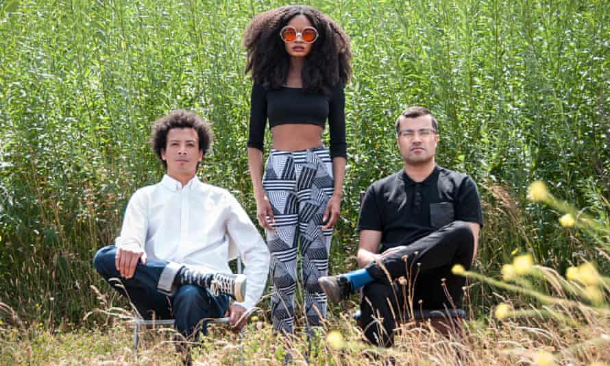 Going with the Flo: Highlife's Esa Williams and Brian D'Souza, with singer Anubley