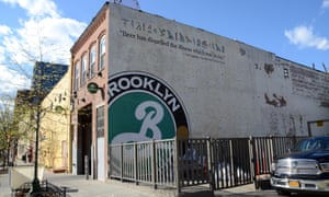All about the beer: New York's Brooklyn Brewery.