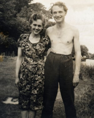 Newlyweds: Stephen and Natasha Spender soon after they were married, in 1941.