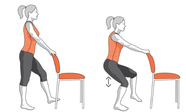 Five exercises to keep your knees in good shape | Life and