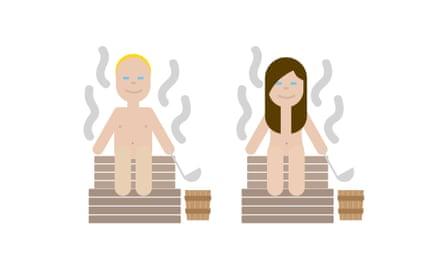 Finland's sauna emoji is 'as Finnish as it gets'.