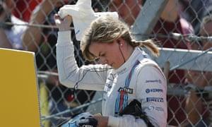 Susie Wolff has retired from motorsport