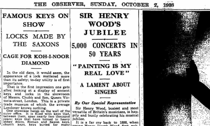 The Observer, 2 October 1938.