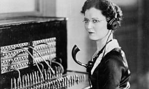 telephonist, 1935