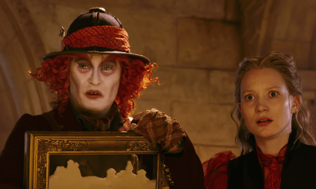 First trailer for Alice Through the Looking Glass