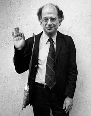 Allen Ginsberg in 1981.
